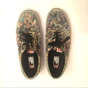 VANS Marvel Comics RARE All over print
